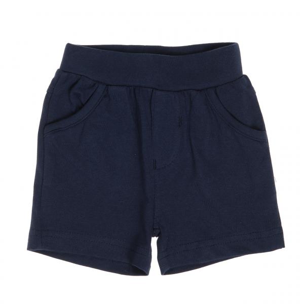 Pantalon scurt baieti bumbac, navy, Babybol 0