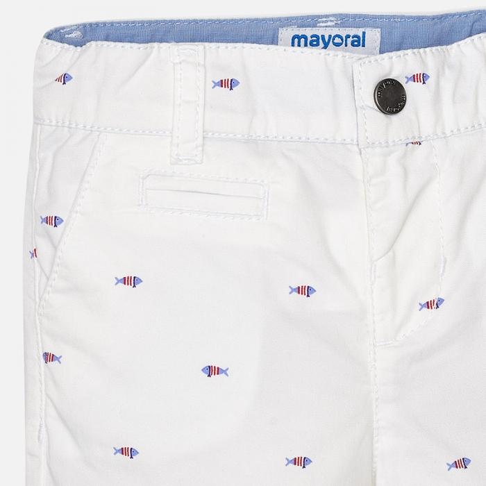 Pantalon scurt cu imprimeu baiat Mayoral 2