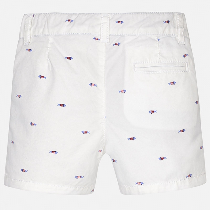 Pantalon scurt cu imprimeu baiat Mayoral 0