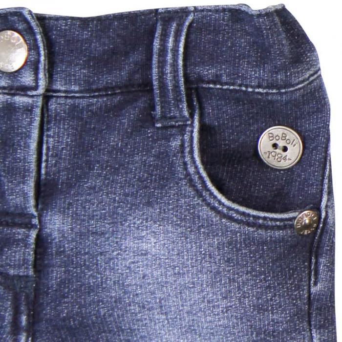 Pantalon scurt denim stretch Boboli 3