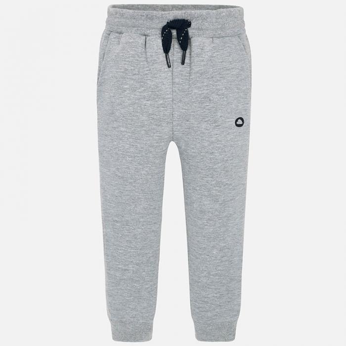 Pantalon sport baieti, gri, Mayoral 0