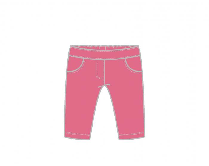 Pantalon tip colant lung , fucsia, Babybol 0