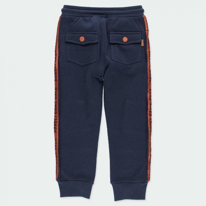 Pantalon trening baieti vatuit, navy, Boboli 2