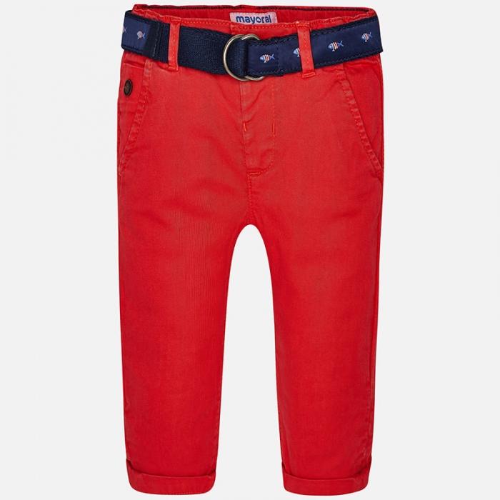 Pantaloni lungi baiat cu curea Mayoral 0
