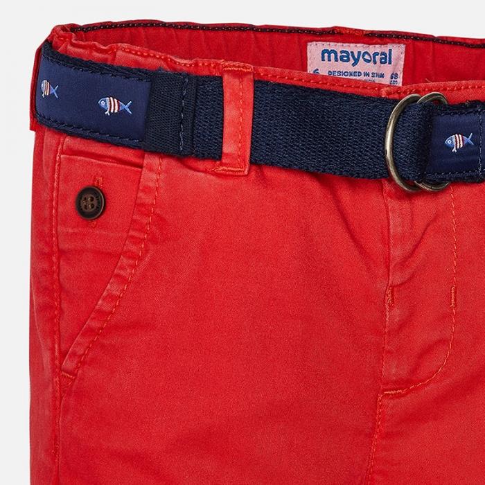 Pantaloni lungi baiat cu curea Mayoral 2