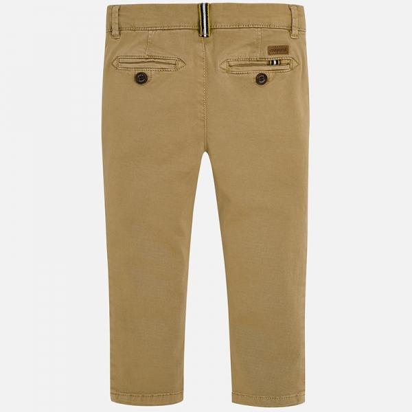 Pantaloni bej cu benzi lateral 1