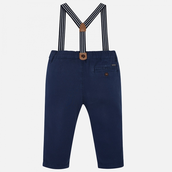 Pantaloni cu bretele baieti Mayoral 1