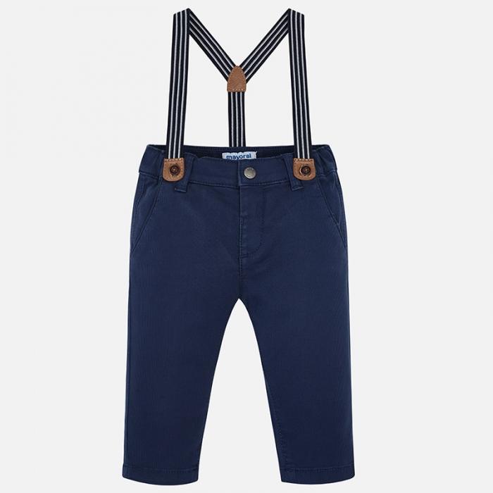 Pantaloni cu bretele baieti Mayoral 0
