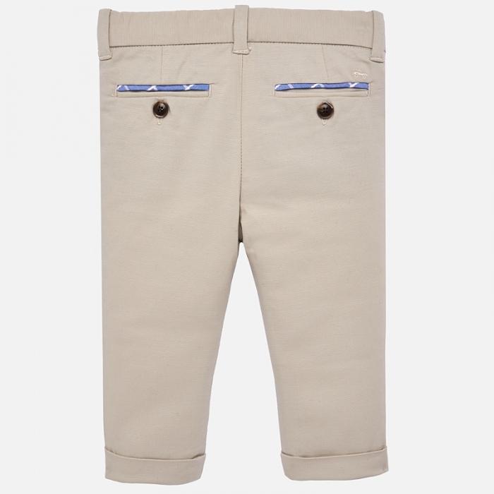 Pantaloni eleganti baieti Mayoral Bej 1