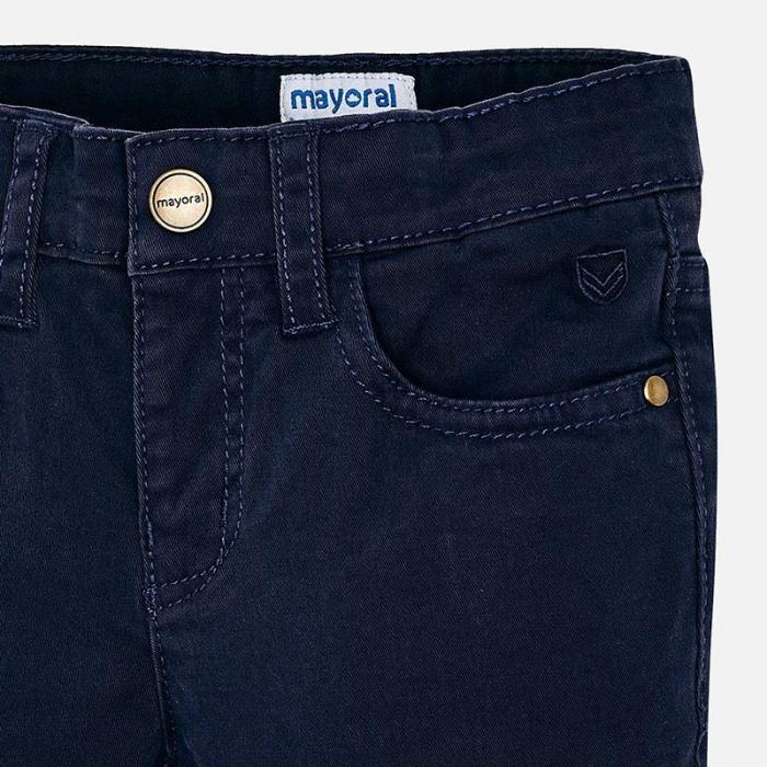 Pantaloni lungi baiat, navy, Mayoral [2]