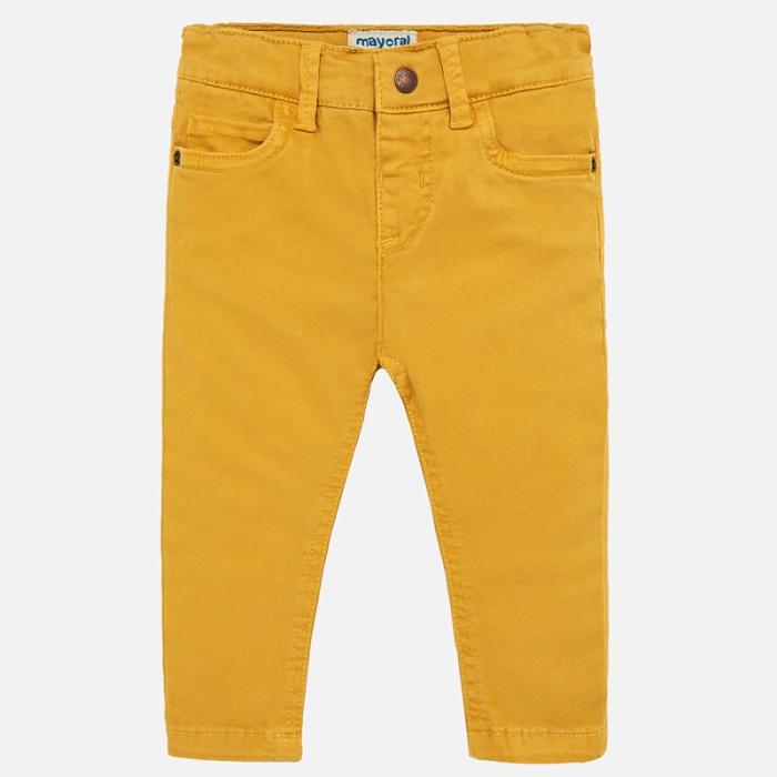 Pantaloni lungi bebe baiat slim fit 0