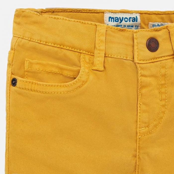 Pantaloni lungi bebe baiat slim fit 2