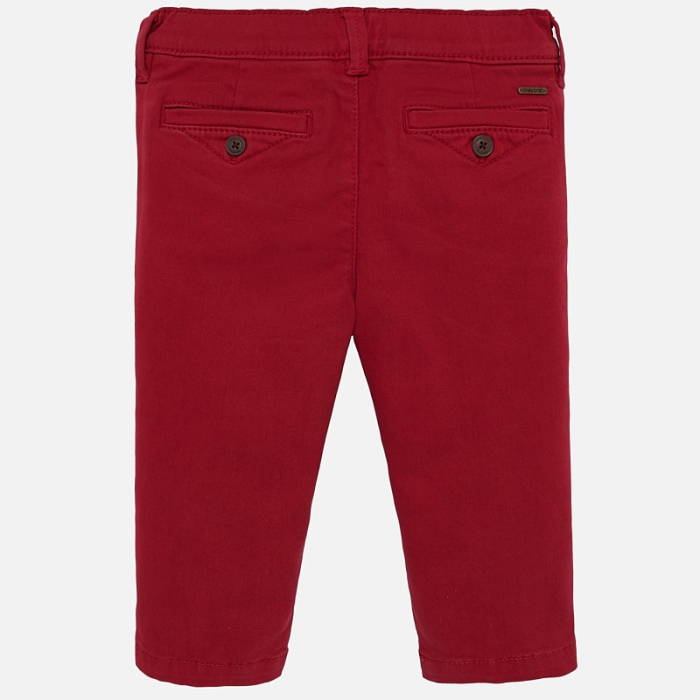Pantaloni lungi chino basic slim fit bebe baiat 1