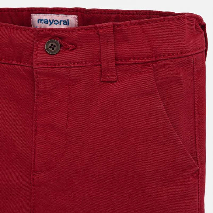 Pantaloni lungi chino basic slim fit bebe baiat 2