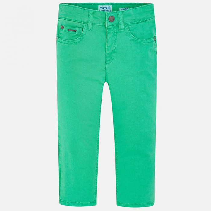 Pantaloni lungi verzi Mayoral 509 0