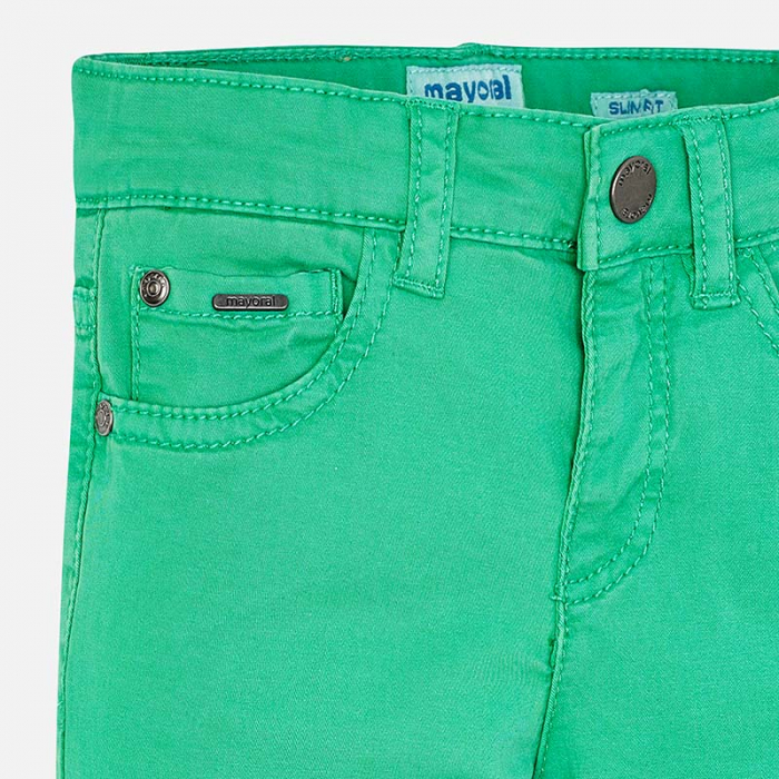 Pantaloni lungi verzi Mayoral 509 2