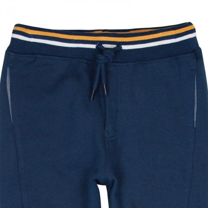 Pantaloni trening baiat 8-16 ani, navy, Boboli 2