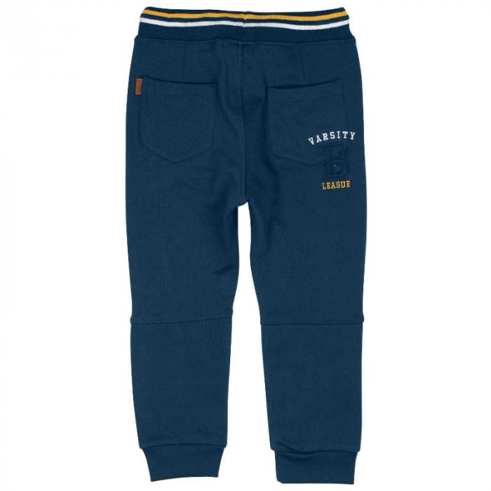 Pantaloni trening baiat 8-16 ani, navy, Boboli 1