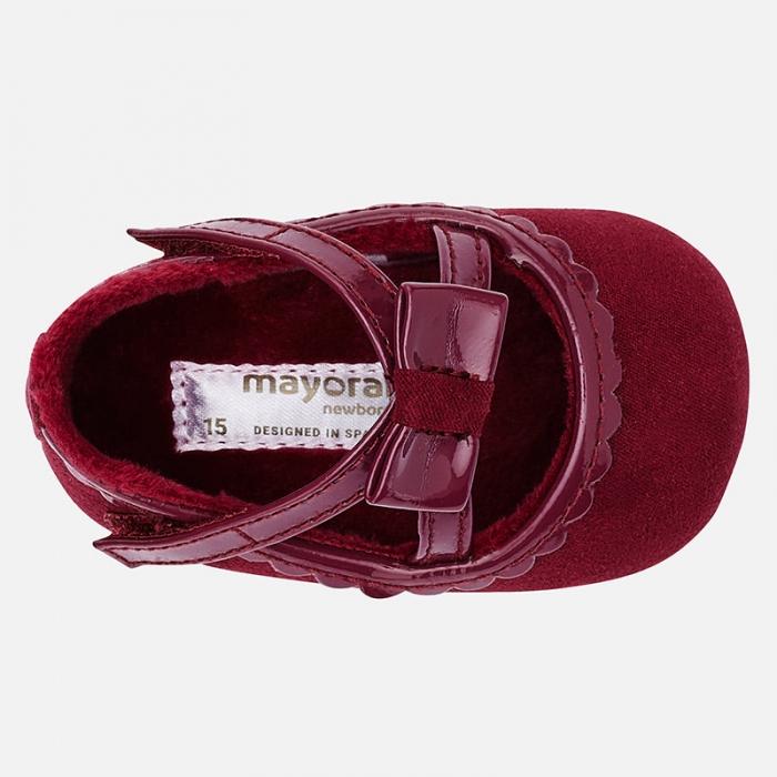Pantofiori bebe grena, Mayoral 2