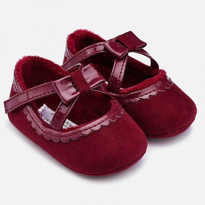 Pantofiori bebe grena, Mayoral 0