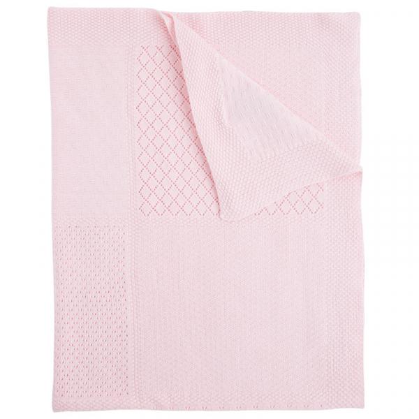 Paturica tricot bebe fetita roz, Mayoral 1