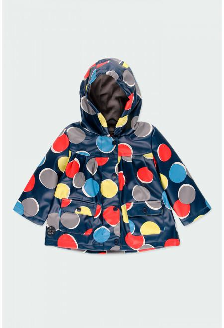 Pelerina  ploaie captusita cu fleece, imprimeu buline, Boboli 0