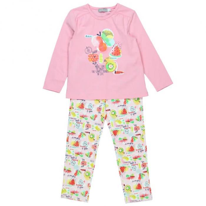 Pijama fete cu fructe Boboli 0