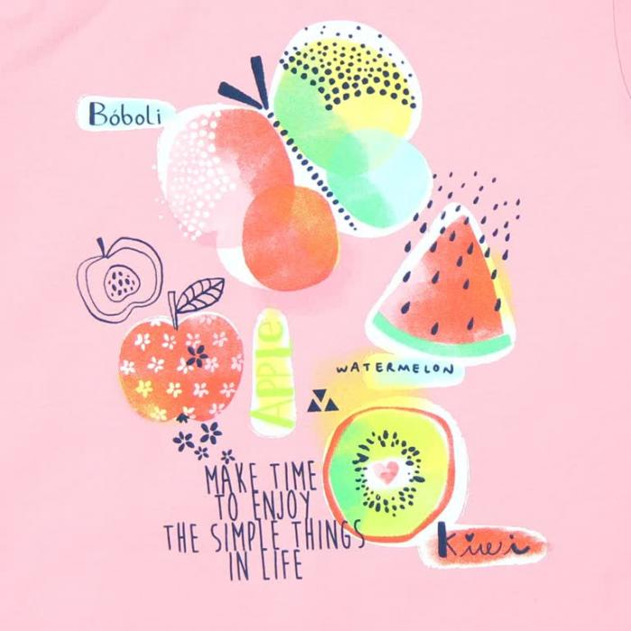 Pijama fete cu fructe Boboli 3