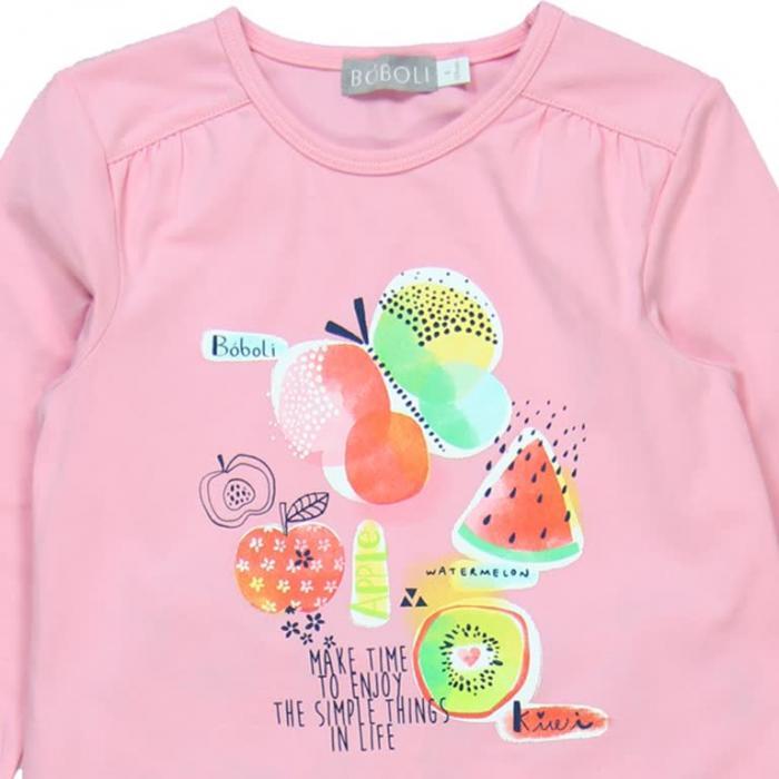 Pijama fete cu fructe Boboli 2