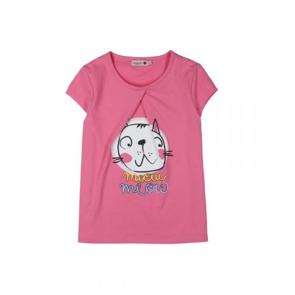 Pijama fete vara, imprimeu pisicute, Boboli 0