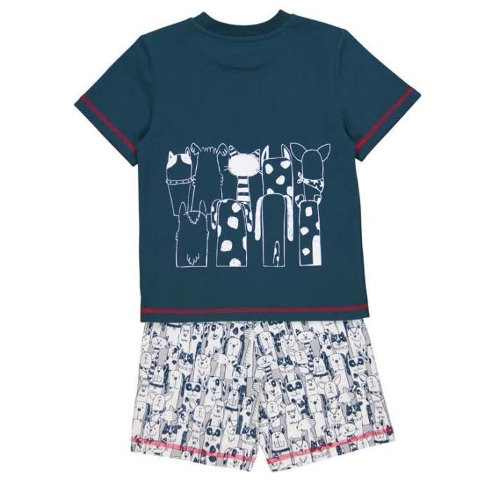 Pijama vara baieti Boboli 1