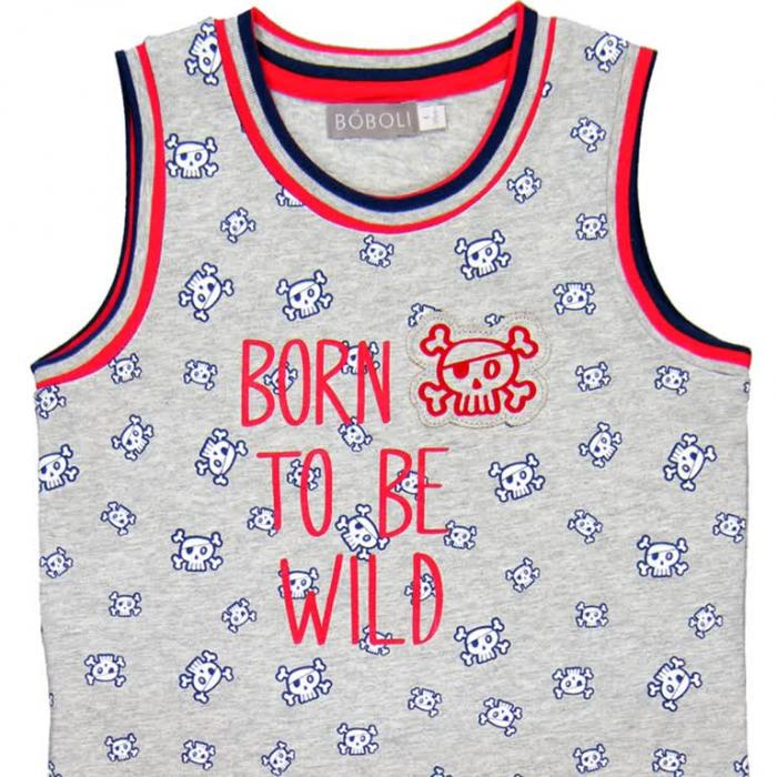 Pijama vara baieti Boboli 2