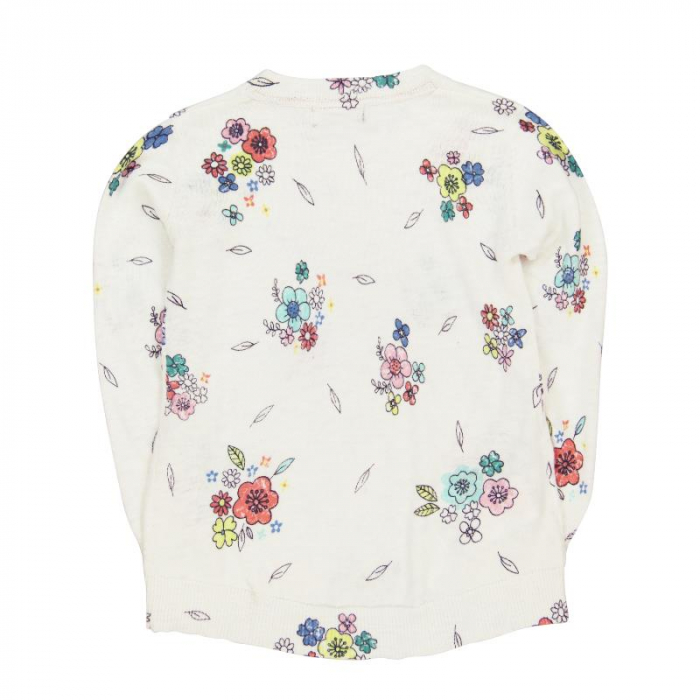 Pulover fete , imprimeu flori,Boboli [1]