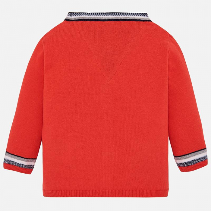 Pulover tricot baiat. orange , Mayoral 1