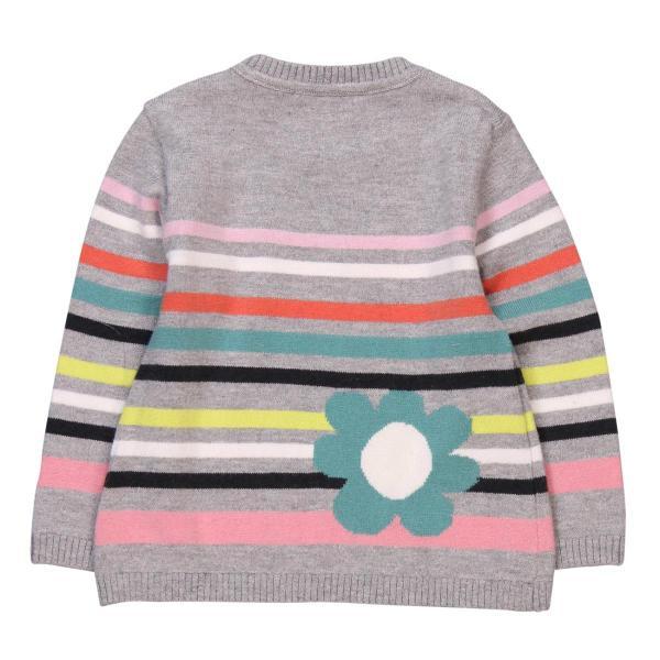 Pulover tricot cu flori Boboli 1