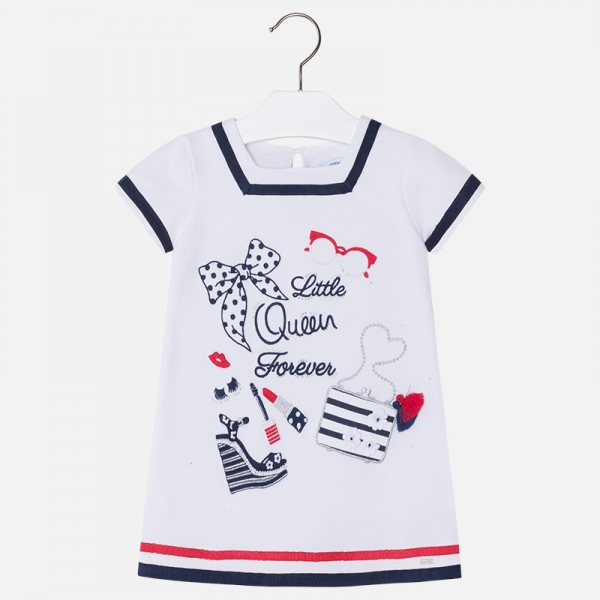 Rochie bumbac little queen Mayoral 0