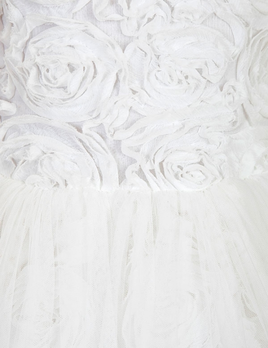 Rochie eleganta cu flori albe Abel&Lula 1