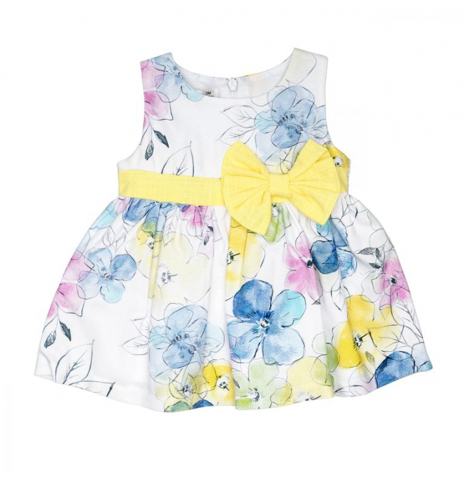 Rochie imprimeu floral, Babybol, 10178 [0]