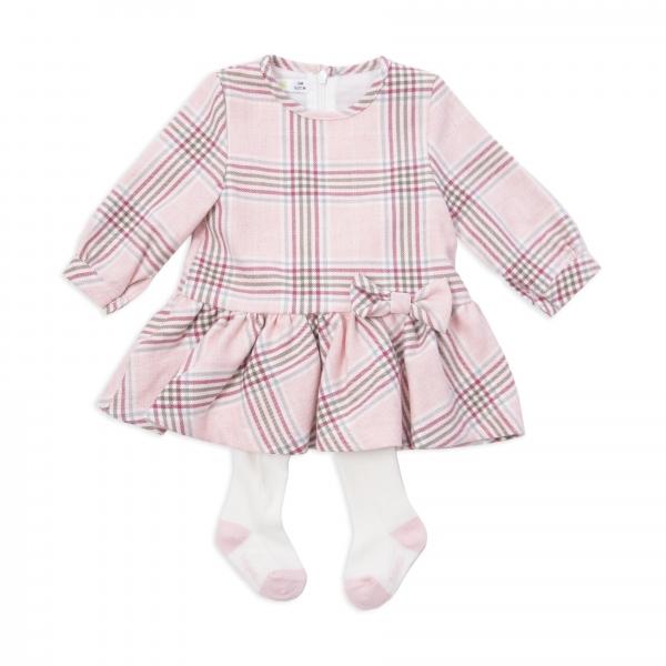 Rochie stofa cu dres , Babybol, roz 0