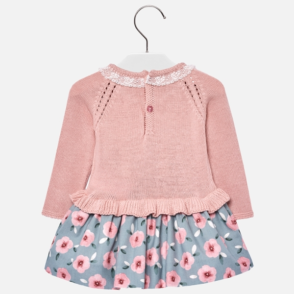 Rochie tricot combinat fetita Mayoral 1