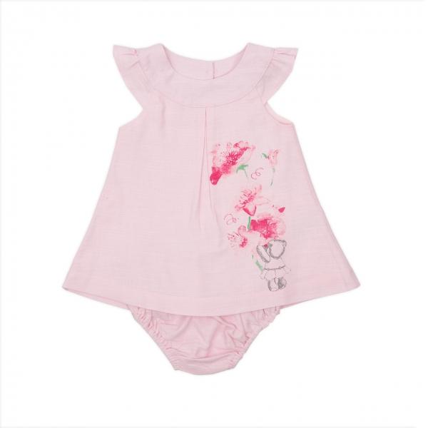 Rochita roz in cu chilot Babybol 0
