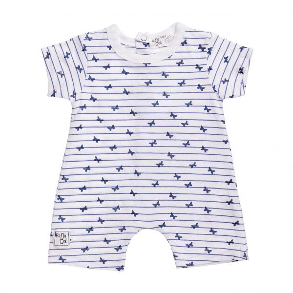 Salopeta bebe fetita , imprimeu fluturi, Babybol Barcelona 0