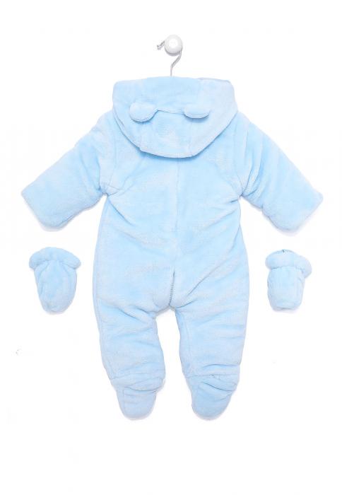 Salopeta bebe iarna vatuita blue, Babybol 1