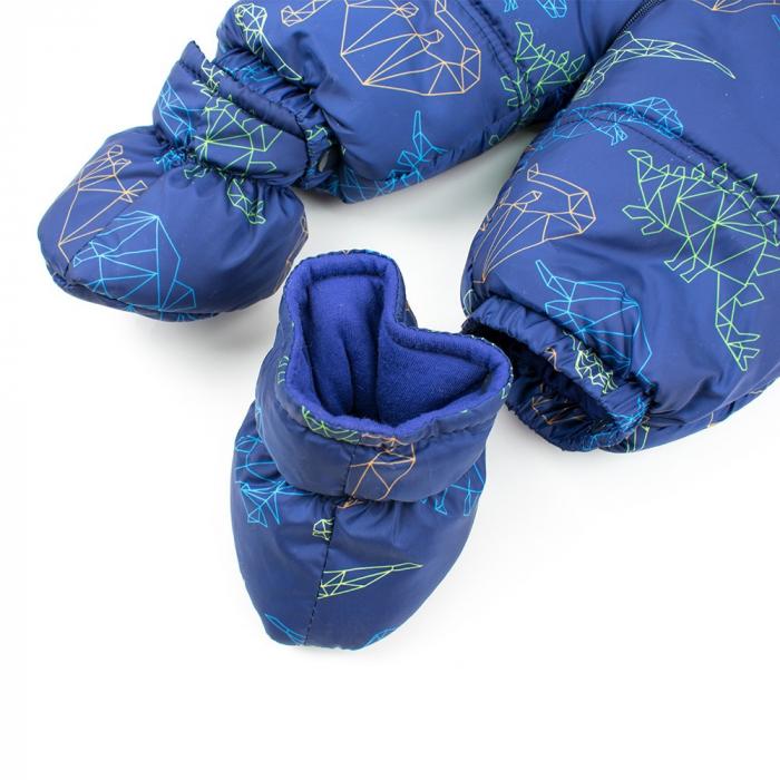 Salopeta iarna baieti Babybol bleumarin 2