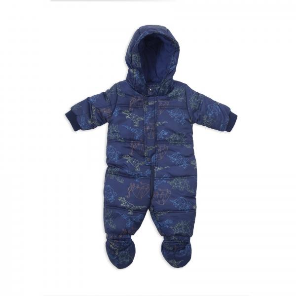 Salopeta iarna baieti Babybol bleumarin 0