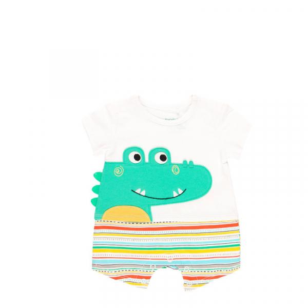 Salopeta vara bebe baiat, multicolor, Boboli 0