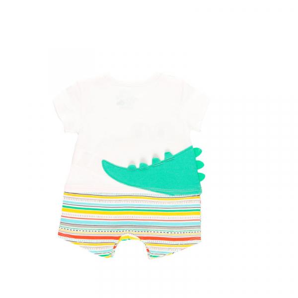 Salopeta vara bebe baiat, multicolor, Boboli 1