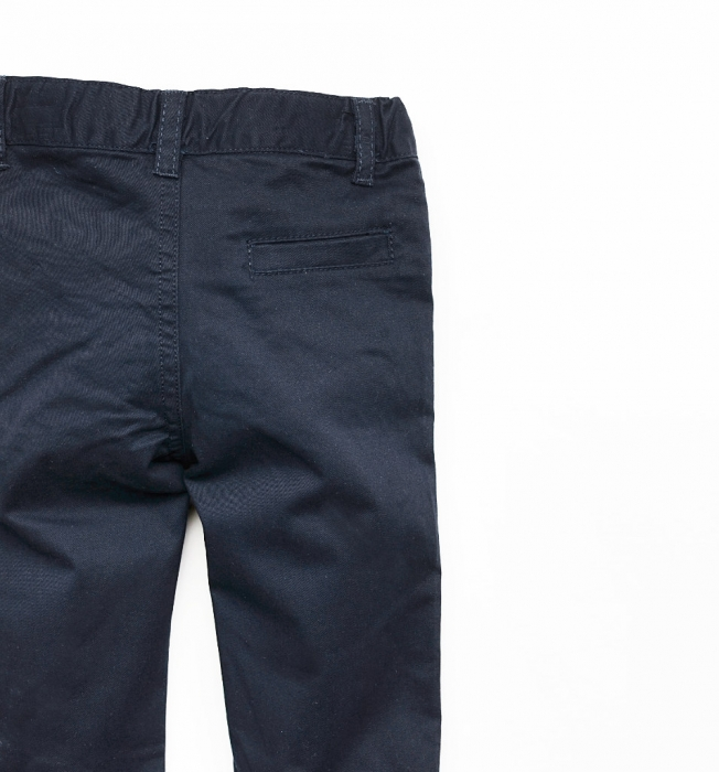 Set baiat camasa maneca lunga si pantalon chino navy , Babybol 2
