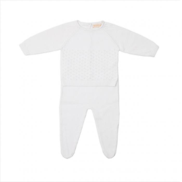 Set bebe tricotat Babybol 0