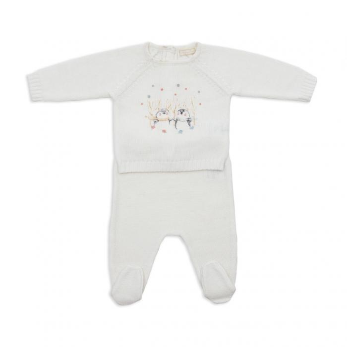Set tricotat bebe 2 piese Babybol 0